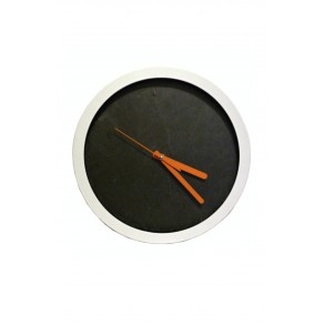 Slate Wall Clock 30x30x4 cm type X.
