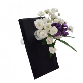 Minivázička z bridlice - vizitková 9x5 cm