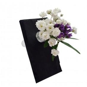 Slate mini vase - visit card 9x5 cm
