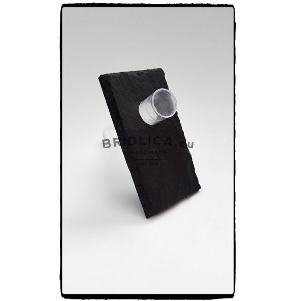 Minivázička z bridlice - vizitková 9x5 cm - Bytové doplnky