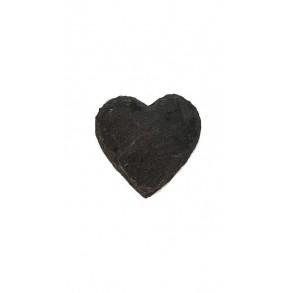 Magnetka z břidlice - srdce 6x6 cm, 7x7 cm