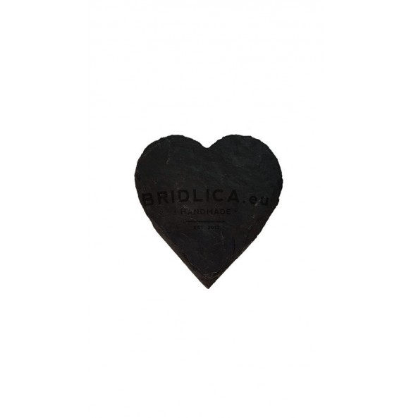 Slate Magnet - Heart 6x6 cm, 7x7 cm - Gifts