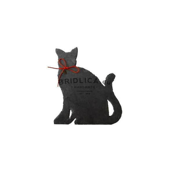 Slate Cat 19x17 cm type III. - Animals