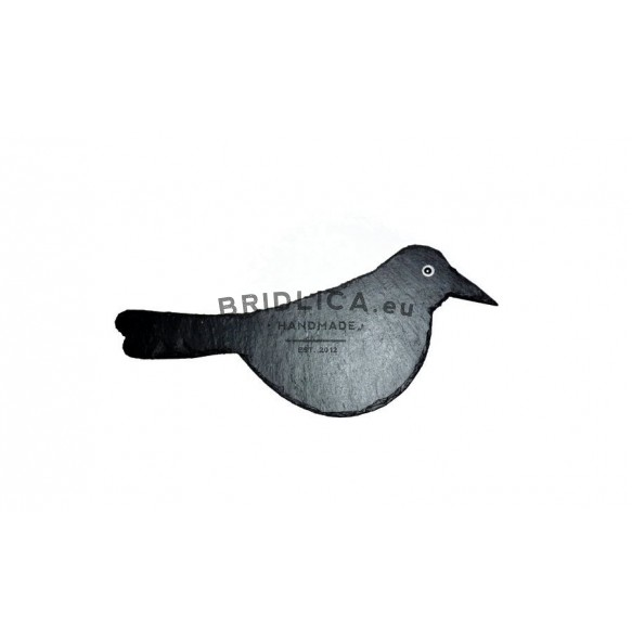 Slate Bird 27x12 cm type I. - Animals