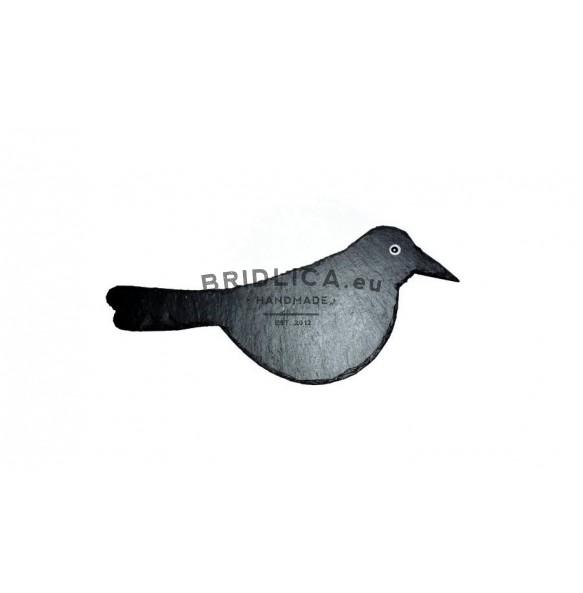 Břidlicový ptáček 27x12 cm typ I. - Zvířata