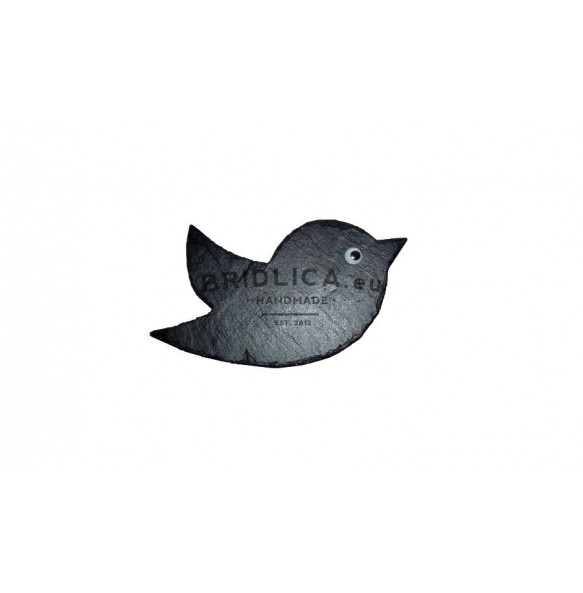 Slate Bird 23x11 cm type III. - Animals