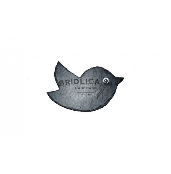 Slate Bird 8,5x6 cm typ IV. - Animals