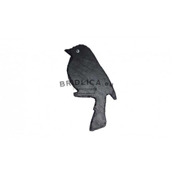 Bridlicový vtáčik 8x16 cm typ V. - Zvieratá