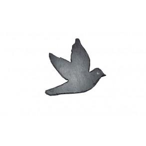 Břidlicová holubice 14x15 cm typ I.