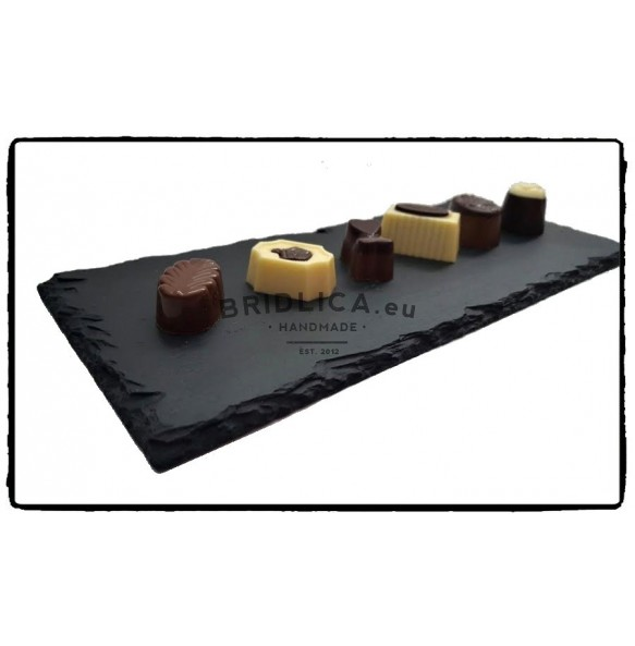 Slate Serving Plate 30x9 cm type E. - Plates