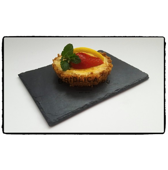 Slate Serving Plate MINI 17x12 cm type B. - Plates