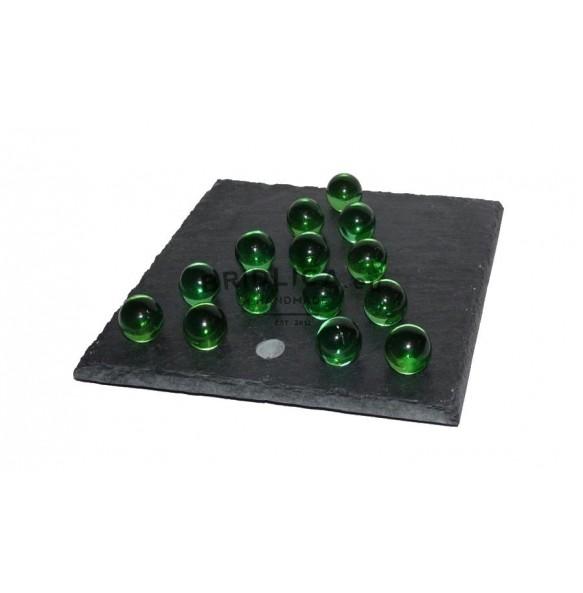 Hra POSLEDNÍ BOJOVNÍK z břidlice 14x14 cm - Hry