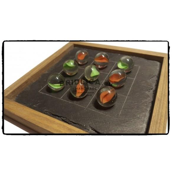 Hra PIŠKVORKY z bridlice 13,5x13,5 cm - Hry