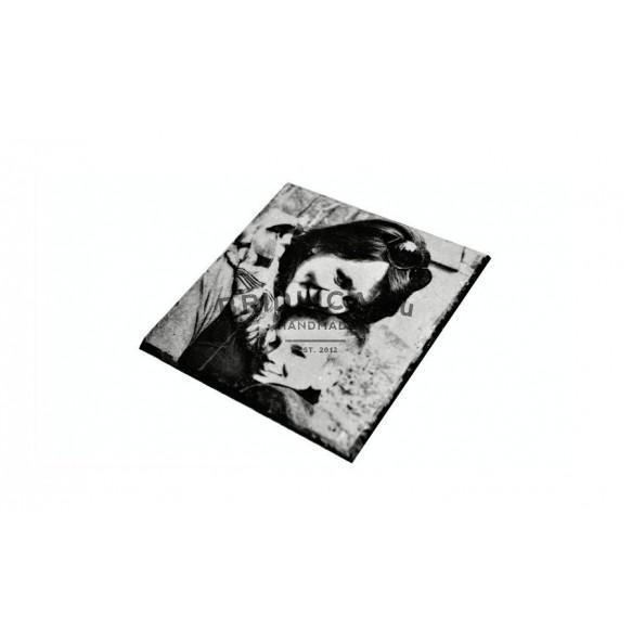 Fotografie na břidlici - čtverec 1 ks, 12x12cm, 14x14 cm - Fotografie na břidlici