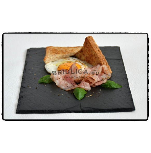 Slate Serving Plate 30x20 cm type A. - Plates