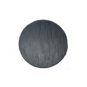 Rounded Slate Serving Plate Ø 19 cm type A.