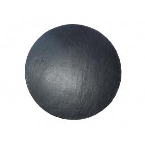 Servírovací kruhová deska z  břidlice Ø 36 cm typ C.