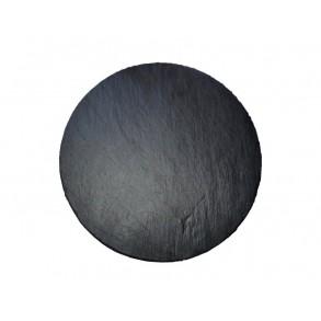 Servírovací kruhová deska z  břidlice Ø 32 cm typ D.