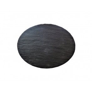 Oval Slate Serving Plate 35x27 cm type B.