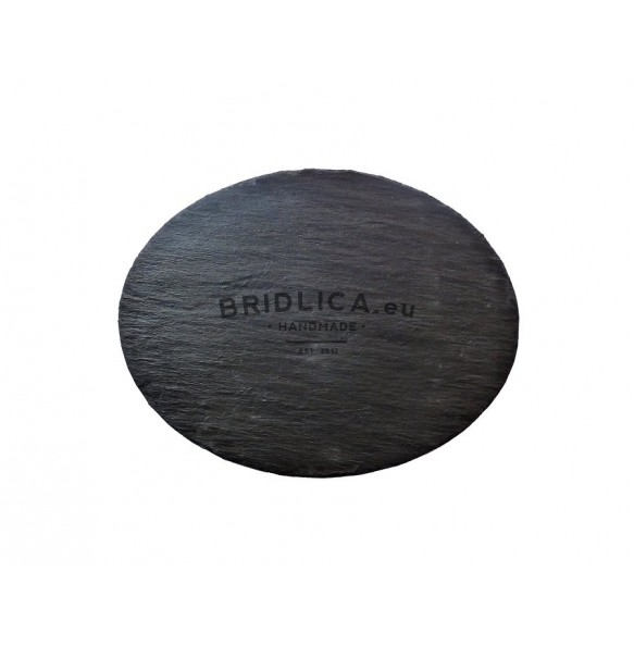 Oval Slate Serving Plate 35x27 cm type B. - Plates