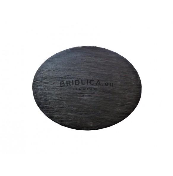 Servírovacia oválna doska z bridlice 35x27 cm typ B. - Dosky