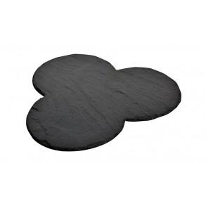 "Slate Servin Plate ""THREE CIRCLES"" Ø 29,5 cm"