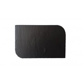 Slate Serving Plate With Rounded Edges 30x20 cm