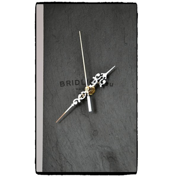 Slate Wall Clock EXCLUSIVE 30x30x4 cm type X. - NEW PRODUCTS