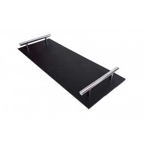 Rectangle Slate Platter EXCLUSIVE Chrome 44x16 cm type B.