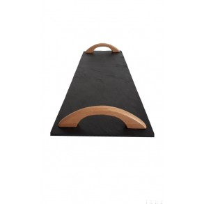 Rectangle Slate Platter EXCLUSIVE wood beech 44x16 cm type A.