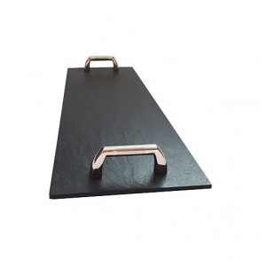 Rectangle Slate Platter EXCLUSIVE Chrome 42,5x14 cm type C.