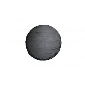 Podšálek z břidlice, kruh 1ks, Ø 8 cm, Ø 11 cm