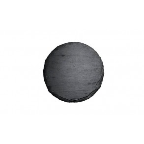 Slate Saucer, circle 1 piece, Ø 8 cm, Ø 11 cm
