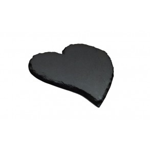 Slate Saucer, atypical hearth 1 piece, 12x12 cm