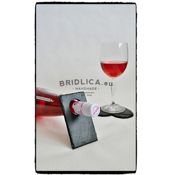 Slate Stand For Bottle of Wine - Stands