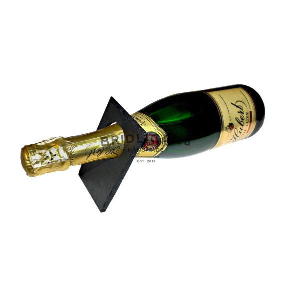 Stojan z bridlice na fľašu šampanského - Stojany