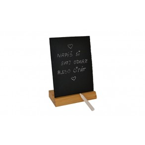 Universal Slate&Wood Stand 20,5x15 cm Type A.