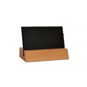 Univerzální stojan z břidlice a dřeva 9x6 cm typ B.