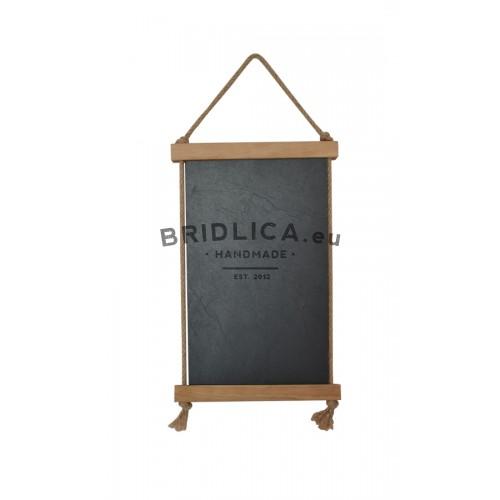 Hanging Slate Writing Board 21x33 cm 3977c383127