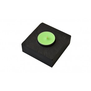Slate Candlestick forTea Candle 8x8 cm Type B.
