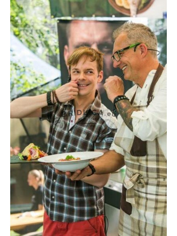Pierre - život chutí na akcii Slovak Food Festival, Bratislava